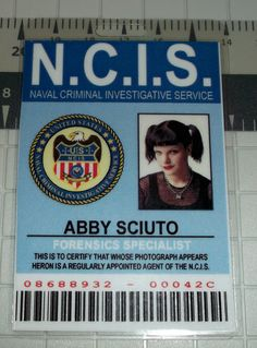 NCIS Abby Sciuto ID Forensics Specialist prop by UncleJacks