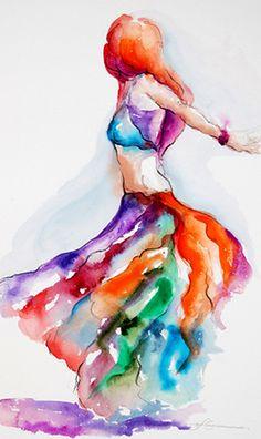 study for dancing flame by segismundoart, via Flickr