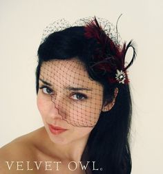 Like the volume of the veil and that it's detachable from the fascinator. Diy Beauty Secrets, Beauty Hacks, Beauty Products, Blusher Makeup, Bridal Comb, Feathered Hairstyles, Radiant Skin, Diy Skin Care, Good Skin