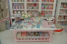 More Cath Kidston miniature shop.