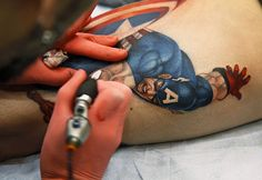 Tatoo Capitan america
