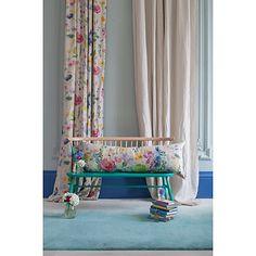 Buy bluebellgray Tetbury Meadow Bolster Cushion Online at johnlewis.com