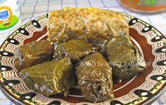 Храна за мойте канибали: Постни лозови сарми