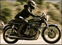 Women ride Hondas.