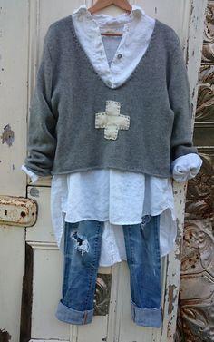 8289516cd08e21a7ff1a4d8d319b99b6.jpg (736×1178) (Thrift Store Diy Clothes)