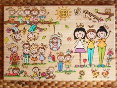 Personalized thank you sign for teacher nanny image 3 Wooden Door Signs, Wooden Doors, Thank You Sign, Farewell Gifts, Folk Art, Kindergarten, Teacher, Activities, Handmade