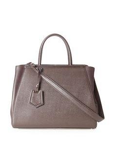Fendi Women's Toujours Handbag (Coffee Black)