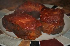 Crockpot Pork Chops. Chili sauce, ketchup and brown sugar. **this was amazing!! We all loved it!!**