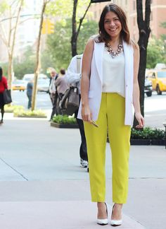 One of the biggest color trends this summer is something slightly unexpected: it's yellow. I say unexpected because yellow isn't a color that you typically see everyone wearing. Yellow is bright, it's loud, it's in-your-face – it's a bold color, and it's not something you wear if you're trying to play it safe. I also … Read More