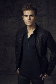 THE VAMPIRE DIARIESPictured: Paul Wesley as Stefan.Image Number: VD4_Stefan_Canvas_3562ra.jpg.Photo Credit: Justin Stephens/The CW.© 2012 The CW Network, LLC. All rights reserved.