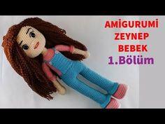 Amigurumi Zeynep Baby Making 3 (Fuß) (Gül Hanım) - Amigurumi Crochet Patterns Amigurumi, Amigurumi Doll, Crochet Dolls, Crochet Baby, Doll Videos, Knitting Videos, Baby Makes, Stuffed Animal Patterns, Knitting Socks