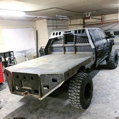 photo description available. Chevy Pickup Trucks, Dodge Trucks, Toy Trucks, Chevy S10, Custom Truck Flatbeds, Custom Flatbed, Flatbed Truck Beds, F250 Flatbed, Truck Bed Accessories