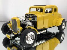 Resin 1//25 Stock Style Deuce Firewall for Revell /'32 Fords