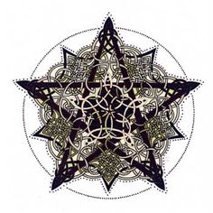 Pentacle Knot is an intricate Celtic design adapted from artwork by Jen Deluth-Keltic Designs. Heaven and Earth Designs. Pagan Cross Stitch, Cross Stitch Books, Cross Stitch Art, Counted Cross Stitch Patterns, Cross Stitch Designs, Cross Stitching, Cross Stitch Embroidery, Stitching Patterns, Pentacle