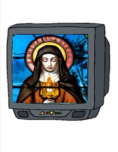 Clare Feastday She is the Patron of TV Francis Of Assisi, St Francis, Catholic Feast Days, Clare Of Assisi, Pope Pius Xii, Days In August, St Clare's, Freedom Of Religion, May We All