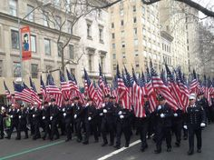 FDNY St. Patrick's Day Parade 2013  By New York City Fire Museum  http://www.nycfiremuseum.org   shared by NY Firestore