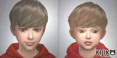 "kijiko-sims: "" Hairstyles Updated Check this out for the details : http://kijiko-catfood.com/hairstyles-updated/ Added the Toddlers and Children version. Fixed an issue with meshes of the Adult..."
