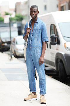 senyahearts:  Models Off Duty: Adonis Bosso - NYFW, Spring 2016