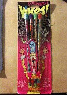 You were cool at school if you had these....even if those spirals were murder on your fingers while writing