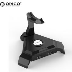 ORICO LH4 USB 3.0 HUB 4 Port USB 2.0 Hub with Wire Mangement - Black