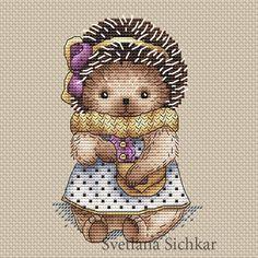 Hedgehog Nastya