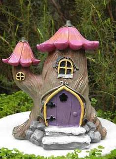 Fairy Garden homes have been a favorite of mine for a long time. It brings me so much joy to see such little, tiny pieces of art! It will add personality and imagination to your garden or outdoor space....
