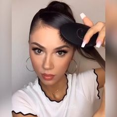 Yay or nay by daisy wolanski braids ponytail hairstyle on natural hair cornrows Side Ponytail Hairstyles, Diy Hairstyles, Night Hairstyles, Ethnic Hairstyles, Medium Hair Styles, Curly Hair Styles, Coiffure Hair, Ponytail Hairstyles Tutorial, Shoulder Hair