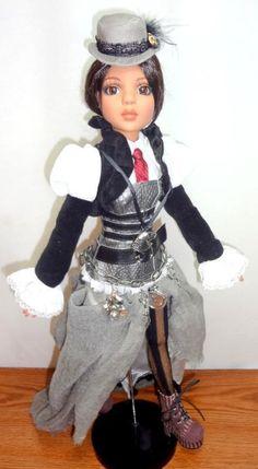 "End of Time Lizette 16"" Doll Wilde Imagination Imperium Park Steampunk Tonner - Ellowyne Wilde"