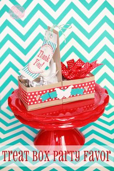 Treat Box Party Favor