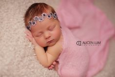 Embroidered Lace Headband Baby Photo Prop Baby by ItsyBitsyBlooms, $12.00
