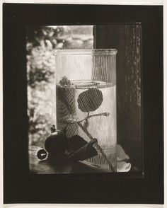 Josef Sudek, Window Still Life with Glass, 1950-1954