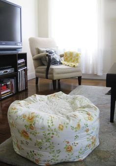 moroccan pouf made super easy and the directions are perfect i used some