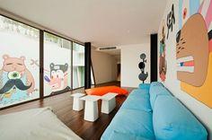 inspired Graffiti in Interior Design