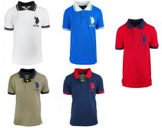 Boys US Polo USPA Motif Short Sleeve Cotton Polo Collar T-Shirt Casual Top.3-12yBoys US Polo USPA Motif Short Sleeve Cotton Polo Collar T-Shirt Casual Top.3-12yOnly £8.99 FREE UK DELIVERY
