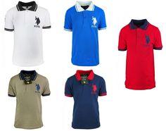 Boys US Polo USPA Motif Short Sleeve Cotton Polo Collar T-Shirt Casual Top.3-12yBoys US Polo USPA Motif Short Sleeve Cotton Polo Collar T-Shirt Casual Top.3-12yOnly £8.99 FREE UK DELIVERY