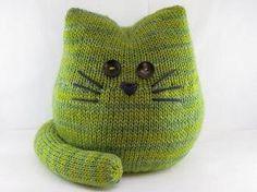 Knitting Pattern. Muñecos decorativos