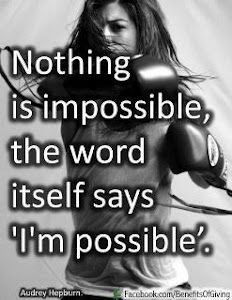 I love boxing and kickboxing. It makes me feel strong!
