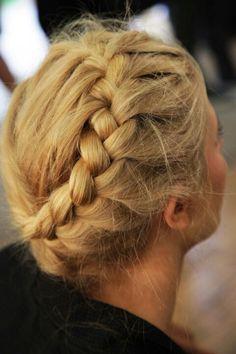 Boho hair with braids - gorg