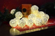 Rattanowe kule led - 20 szt. Polandi Led, Christmas Bulbs, Holiday Decor, Home Decor, Decoration Home, Christmas Light Bulbs, Room Decor, Home Interior Design, Home Decoration