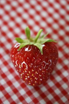 Strawberry...yum yum!