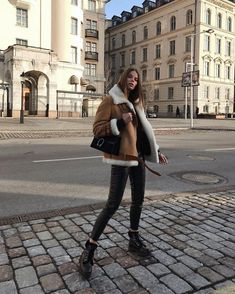 120 fancy winter outfits ideas for women to try right now – page 37 Winter Mode Outfits, Winter Fashion Outfits, Autumn Winter Fashion, Fall Outfits, Summer Outfits, Casual Outfits, Cute Outfits, Moda Outfits, Outfits Mujer