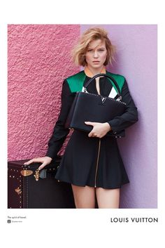Lea Seydoux stars in her first campaign for Louis Vuitton