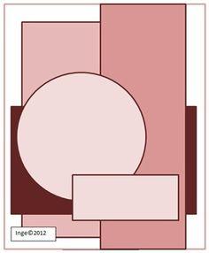 Patterned Paper - Papercrafts by Inge: Schets nummer #1 Bij Oma Dee