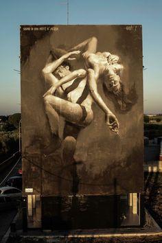 RT @GoogleStreetArt: Street Art by Gomez   #art #mural #graffiti #streetart https://t.co/aKRJtDleVB