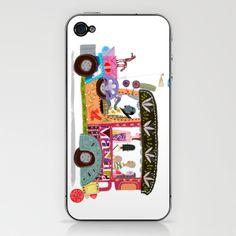 Philippine Jeepney iPhone & iPod Skin by Robert Alejandro - $15.00
