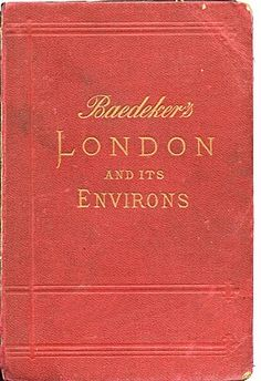 Old London Guide Book