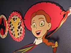 Girly Toy Story Banner by TwinMomMade on Etsy, $33.00