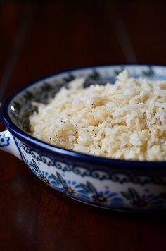"""Garlic Rice Pilaf...in the OVEN! Very easy, very tasty...and came out great! We are rice """"snobs"""" and this passed muster."""