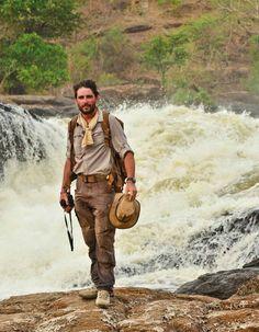 Major Levison Wood walking the Nile.