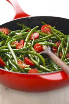 Groenbone met tamatie  | SARIE |  Green beans with tomatoes